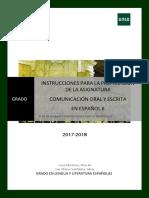 Instrucciones Preparación Coe II 2018