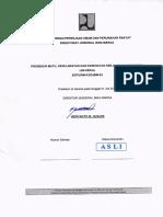1. SOP UPM-K3 DJBM-02 Prosedur Mutu, Keselamatan Dan Kesehatan Kerja, Dan Lingkungan Ijin Kerja