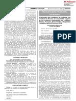 Ordenanza que establece el reajuste con el Índice de Precios al Consumidor vigente de los arbitrios municipales de Limpieza Pública Parques Áreas Verdes y Seguridad Ciudadana para el Período 2018