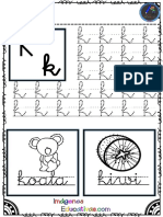 Abecedario Para Practicar La Grafomotricidad PDF 11 20
