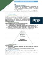Organisation Des Ese BAC-GE
