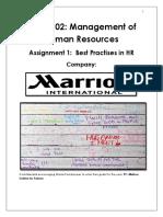 marriott bedding program case study