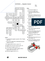 Crossword Puzzle in Magnetism-1