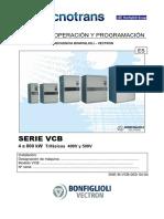Vectron Programacion Español