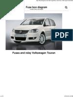 Fuse Box Volkswagen Touran