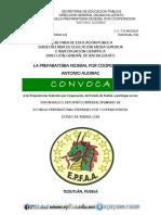 """CONVOCATORIA INTER-PREPAS 2018 """"ANTONIO AUDIRAC"""""""