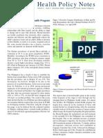 Philippine Health Policy_statistics