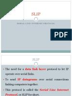 SLIP & PPP PROTOCOL
