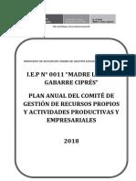 Plan Anual 2018