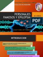 Personajes Famosos Epilepsia- Final