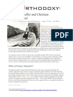 Francis Schaeffer and Christian Intellectualism
