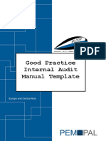 IA Manual Template v1 | Internal Audit | Auditor's Report