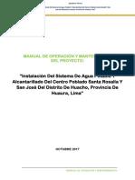14.01 b Manual de Operadcion y Mantenimiento Sistema de Agua Potable y Alcantarilado