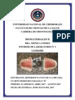 Informe de Biomateriales Sobre Cavidades