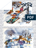 Iarna - jocurile copiilor iarna PPT