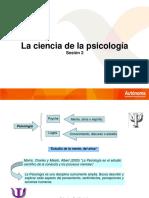 Ciencia de La Psicologia