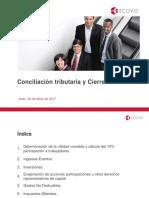 Cierre Fiscal 2016