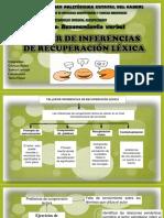 3 Taller de Inferencias de Recuperación Lexica. Acero, Carvajal. Guama y Yepez