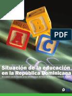 Situacion de La Educacion en La República Dominicana