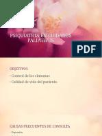 PSIQUIATRIA EN CUIDADOS PALIATIVOS