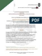 Convocatoria Maestria Generacion 2018