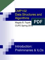 Lec0 Intro CMP102 F18 Course Preliminaries-ILOs