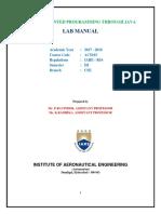 Java Lab Manual