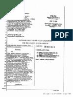 Esplanade v Disney (State Court)