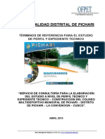 TERMINO DE REFERENCIA Factibilidad Exp Coliseo Pichari