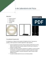 Informe de Laboratorio de Física III