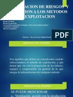 Semana 3, Clasificacion de riesgos y asociación a los metodos de explotación.pptx