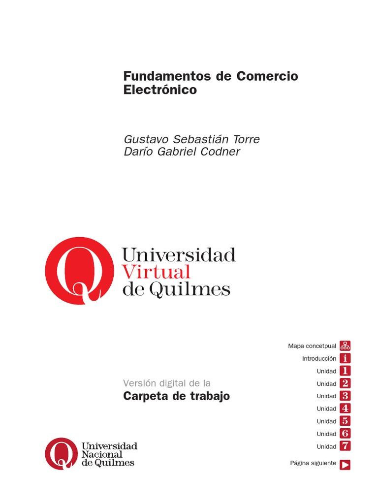 Fundamentos Comercio Electronico