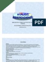 Independiente_Encuesta Elecciones Legislativas 2010