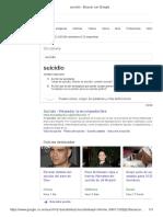 Suicidio - Buscar Con Google