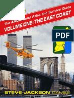 AADA Road Atlas V1 the East Coast