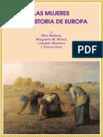 Las Mujeres y La Historia de Europa