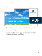 Part 2 - Calls for Proposals in Clean Sky 2 - PDF