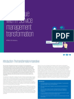 Unlock Value With It Service Management Transformation
