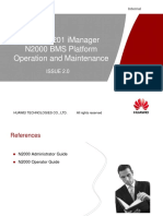 OBN208211 IManager N2000 BMS Platform Operation and Maintenance ISSUE2.00