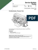 Cooling System Pressure Test