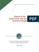 Executive Budget Report 2-13-18