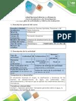 Guía de Actividades y Rúbrica de Evaluación - Etapa de Inicio - Conceptos Básicos Sobre El Agua