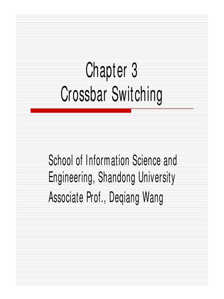 Crossbar Telephone Exchange Matrix Or Switching