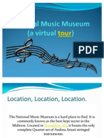 National Music Museum Virtual Tour