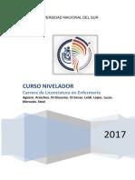 Cuadernillo Curso Nivelador 2017 Enfermeria