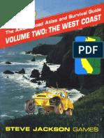 AADA Road Atlas V2 the West Coast
