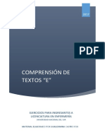 Comprension de Textos Enfermeria 2017