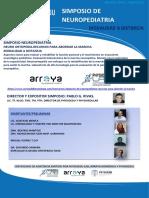 Info Simposio Neuropediatria a Distancia 2018