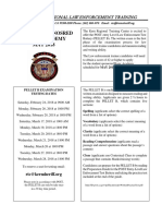 Kern Regional Law Enforcement Training Academy testing dates