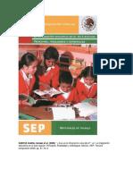 GARCÍA Cedillo, Ismael Et Al. (2000), La Integración Educativa en El Aula Regular; Principios, Finalidades y Estrategias